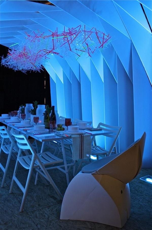 Tasteful Dining Room Lighting  (18)