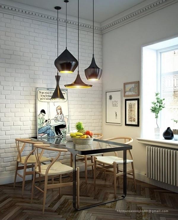 Tasteful Dining Room Lighting  (19)