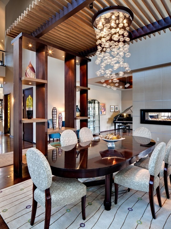 Tasteful Dining Room Lighting  (21)