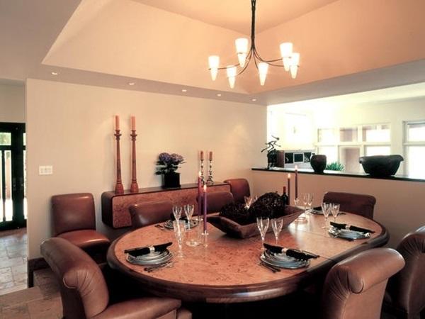 Tasteful Dining Room Lighting  (22)
