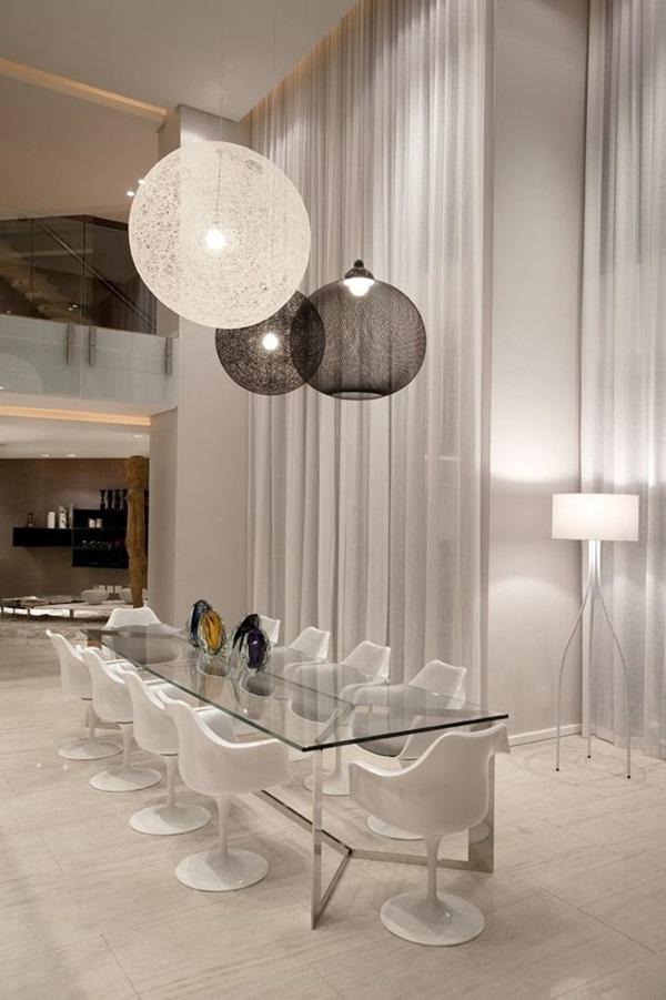 Tasteful Dining Room Lighting  (23)