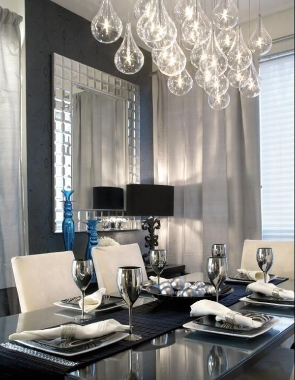 Tasteful Dining Room Lighting  (24)