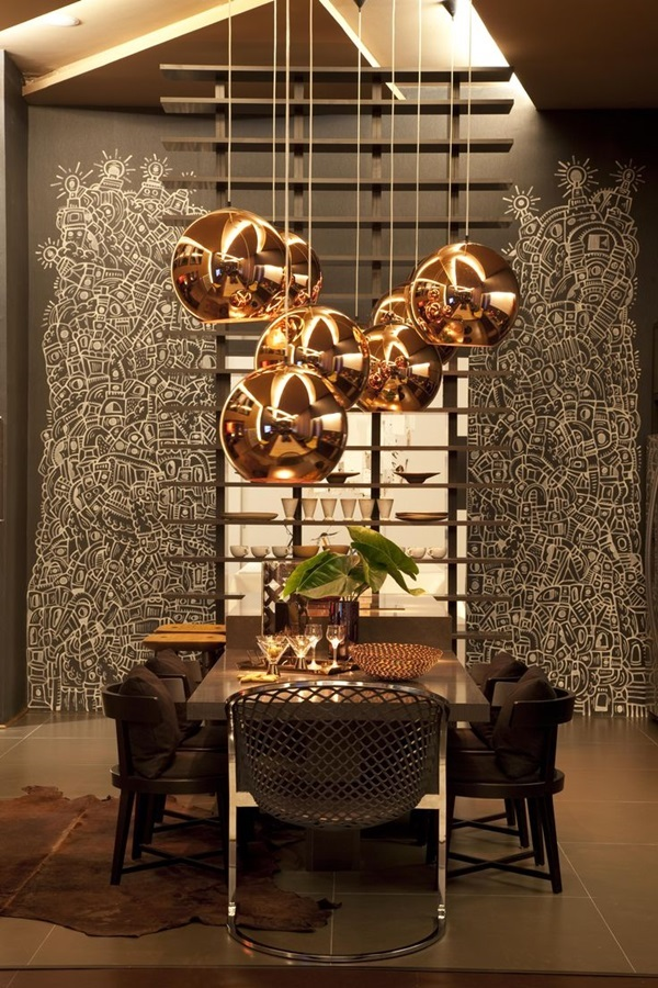Tasteful Dining Room Lighting  (27)