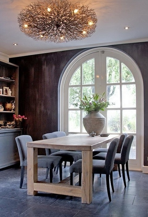 Tasteful Dining Room Lighting  (28)