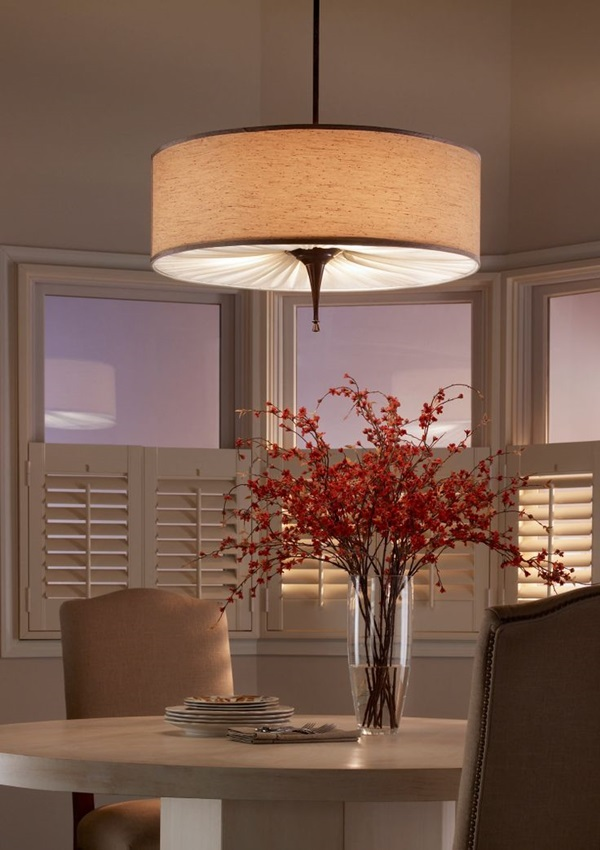 Tasteful Dining Room Lighting  (3)