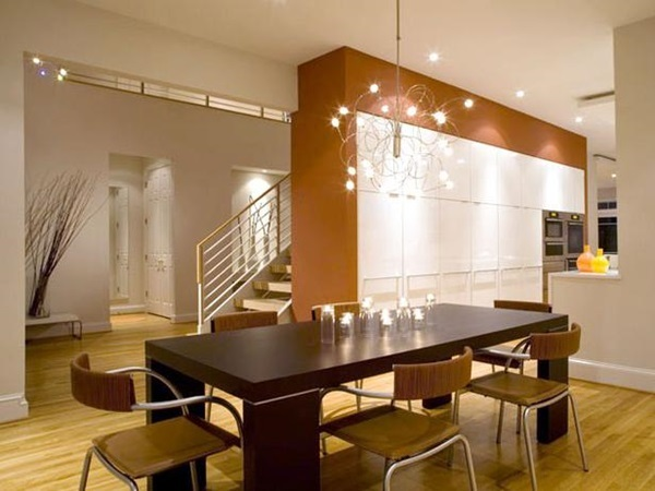 Tasteful Dining Room Lighting  (32)