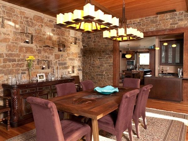 Tasteful Dining Room Lighting  (35)