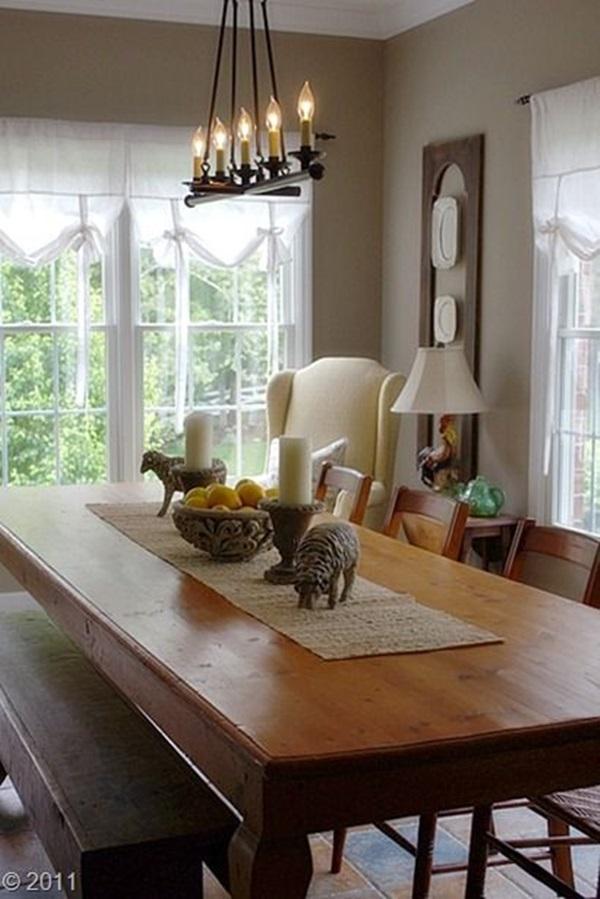 Tasteful Dining Room Lighting  (4)