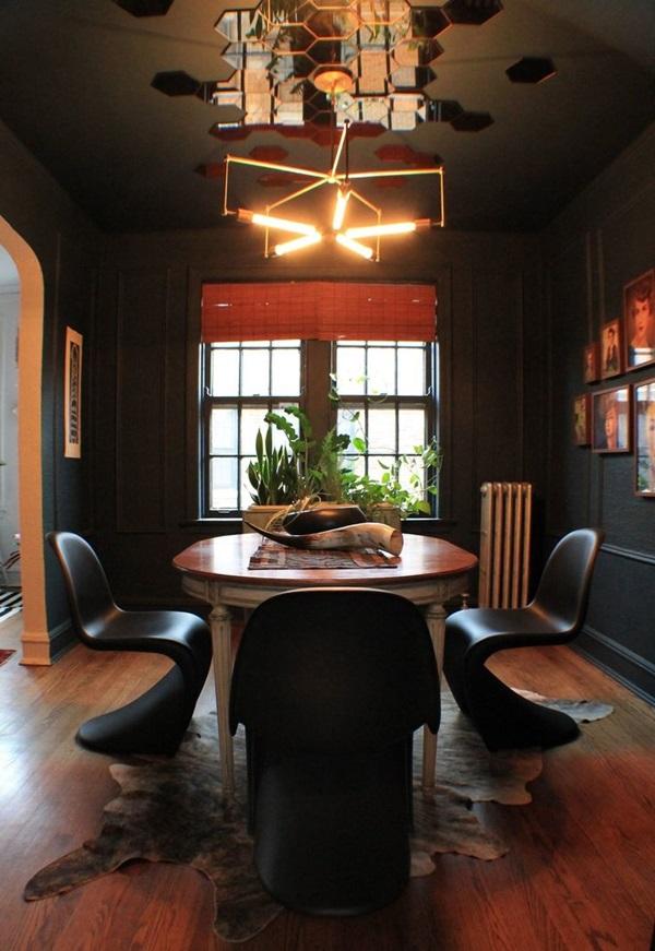 Tasteful Dining Room Lighting  (7)