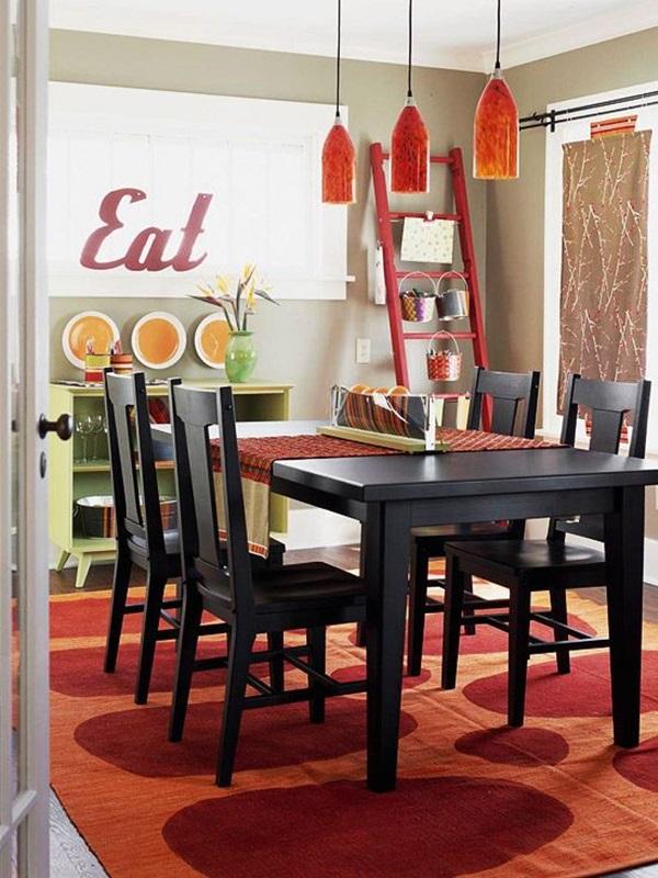 Tasteful Dining Room Lighting  (9)