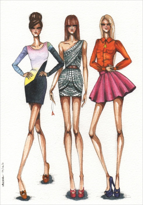 fashion illustrations 9