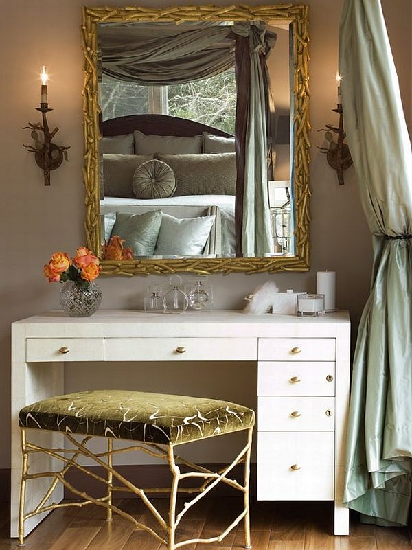 Attractive Mirrored Dressing Table Designs (20)