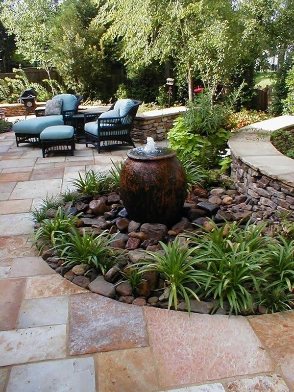 Beautiful Garden Fountain ideas (23)