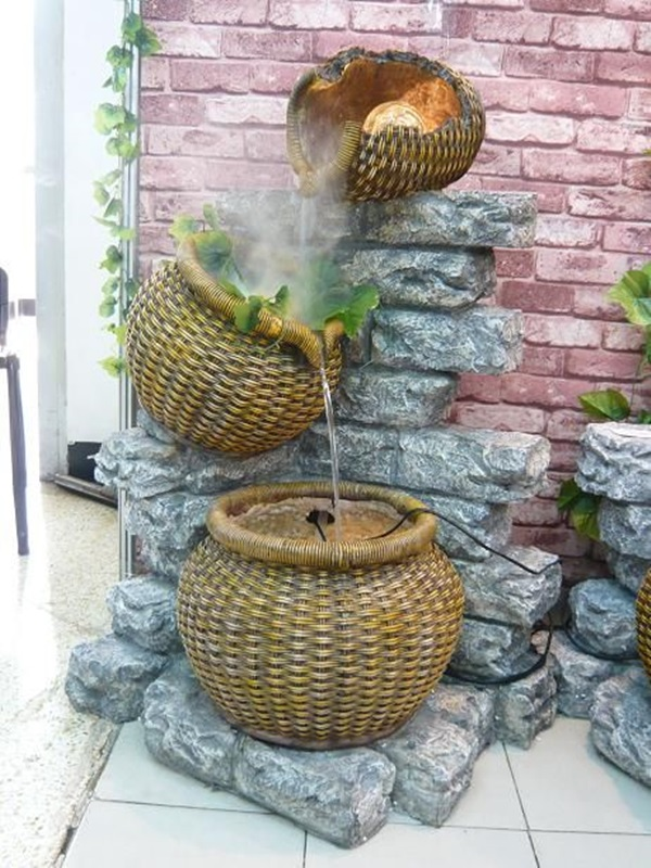 Beautiful Garden Fountain ideas (28)