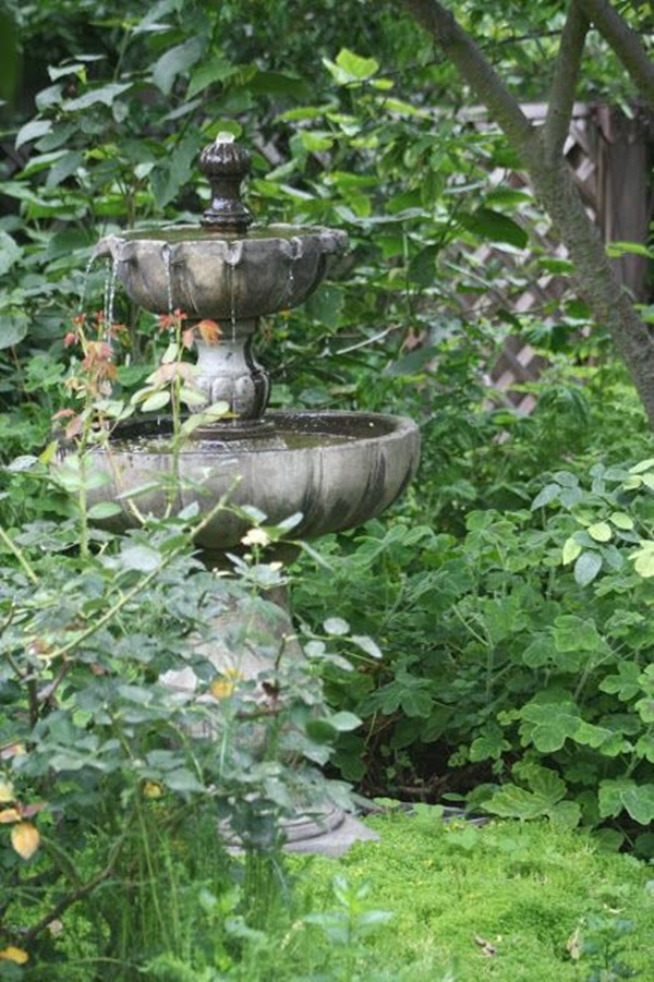 Beautiful Garden Fountain ideas (33)