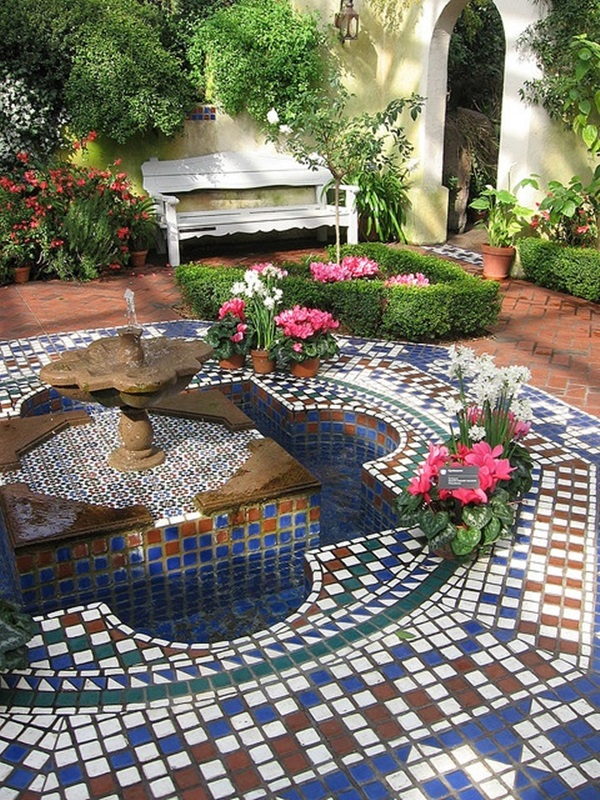 Beautiful Garden Fountain Ideas (43)