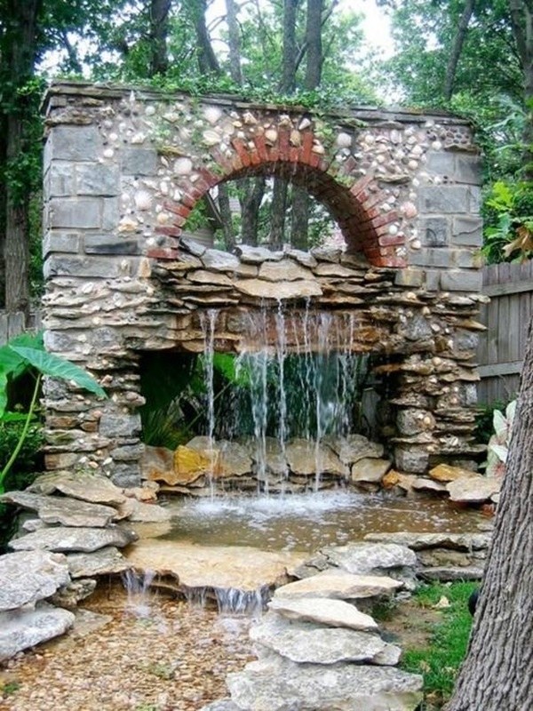 Beautiful Garden Fountain ideas (47)