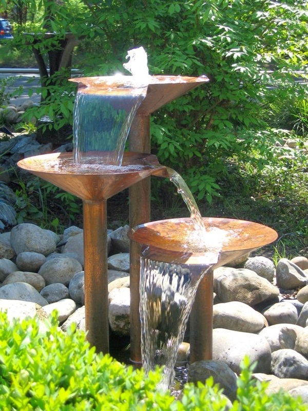 Beautiful Garden Fountain ideas (50)