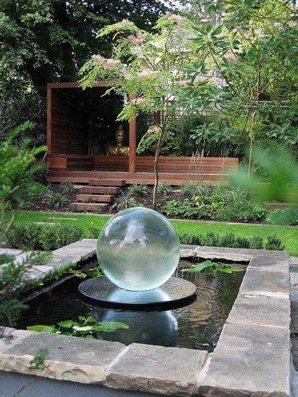 Beautiful Garden Fountain ideas (52)