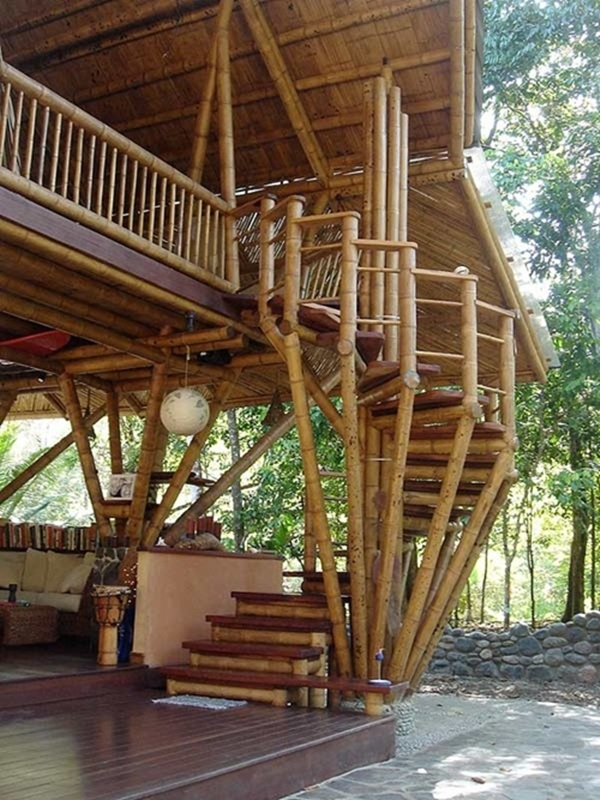 Raw Bamboo House Designs (12)