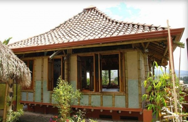 Raw Bamboo House Designs (14)