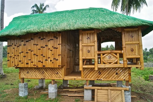 Raw Bamboo House Designs (17)