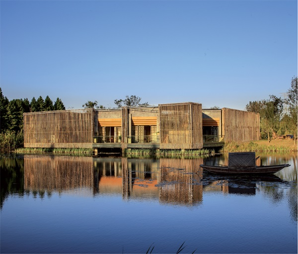 Raw Bamboo House Designs (22)