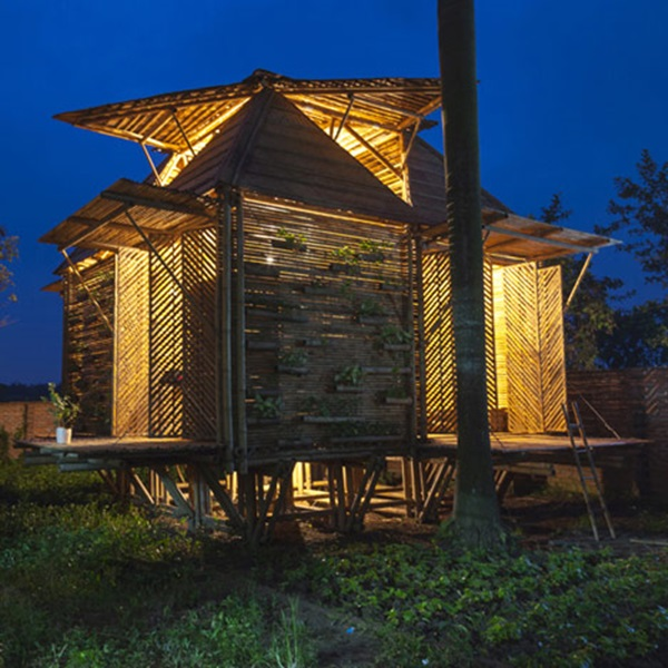 Raw Bamboo House Designs (23)