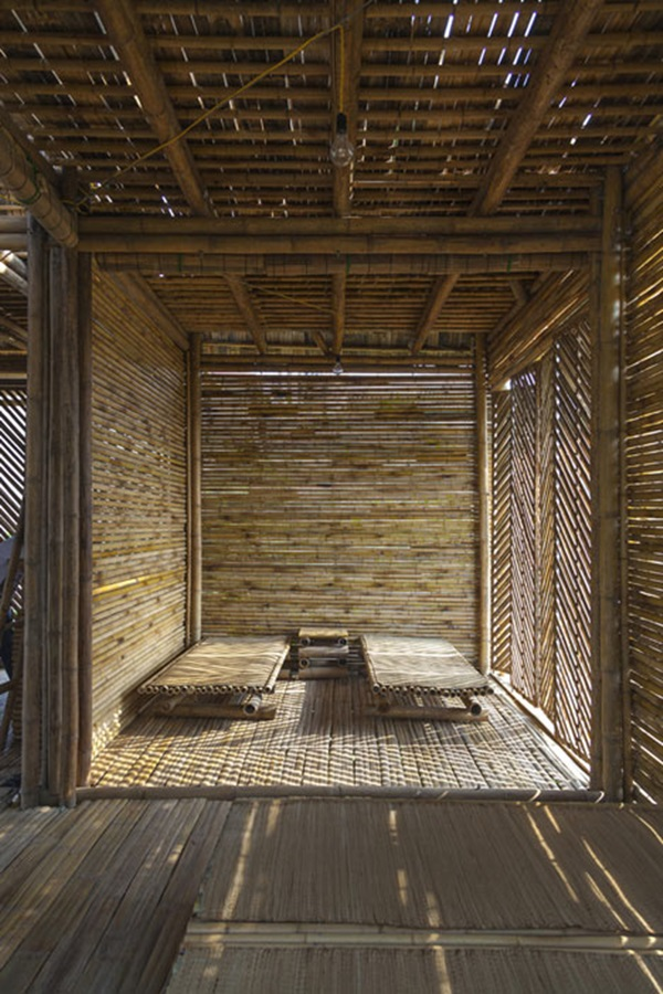 Raw Bamboo House Designs (24)