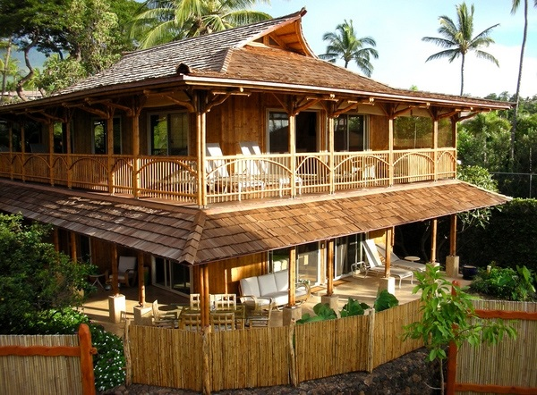 Raw Bamboo House Designs (25)