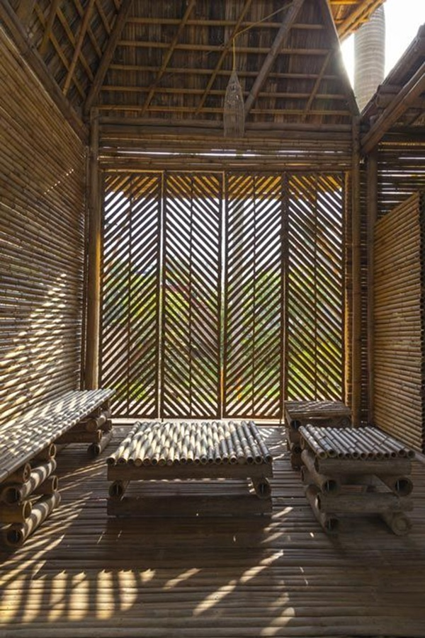 Raw Bamboo House Designs (27)