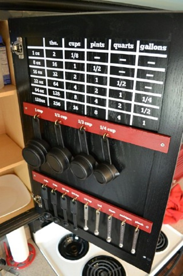 kitchen storage & organization ideas (15)