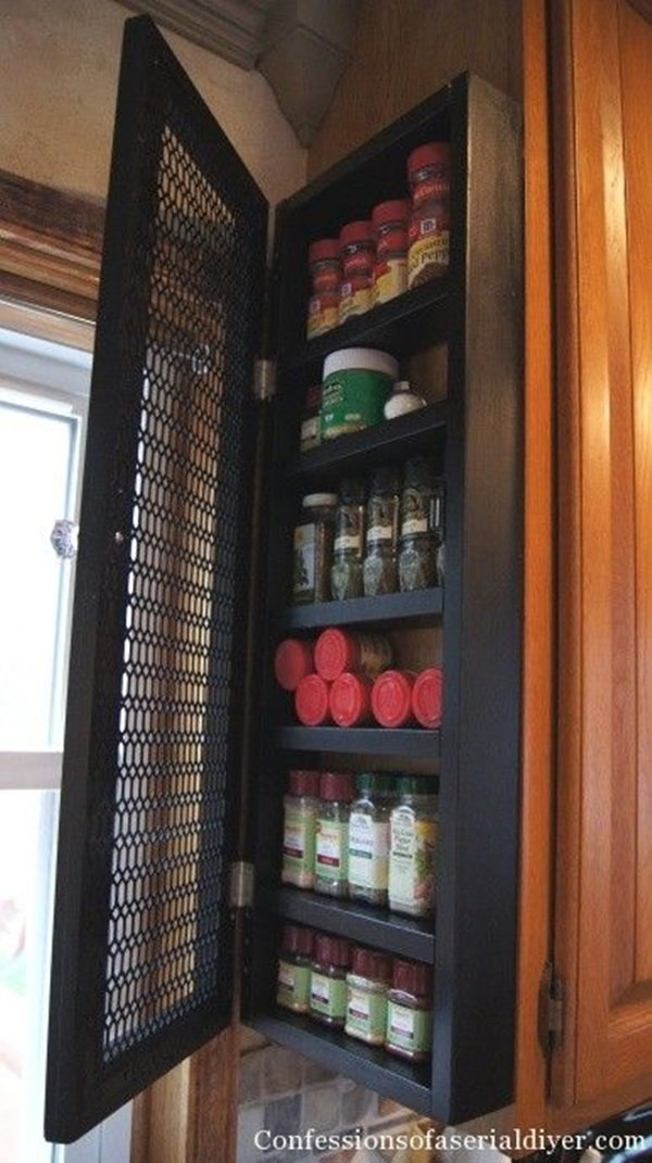 kitchen storage & organization ideas (19)