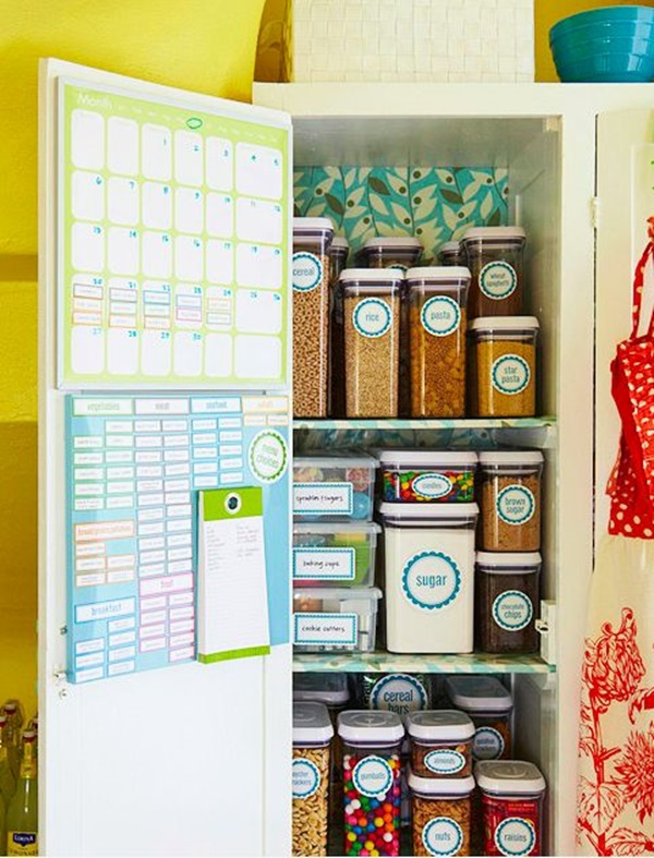 kitchen storage & organization ideas (24)
