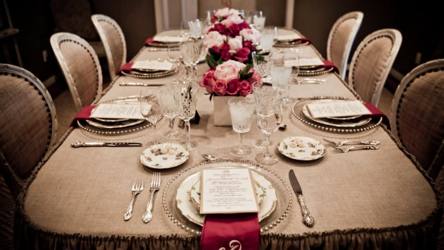 dinner table decoration 17