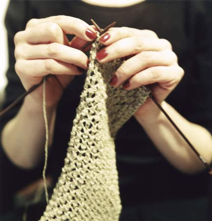 garment knitting
