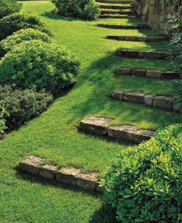 Cool Garden Stair Ideas For Inspiration (10)
