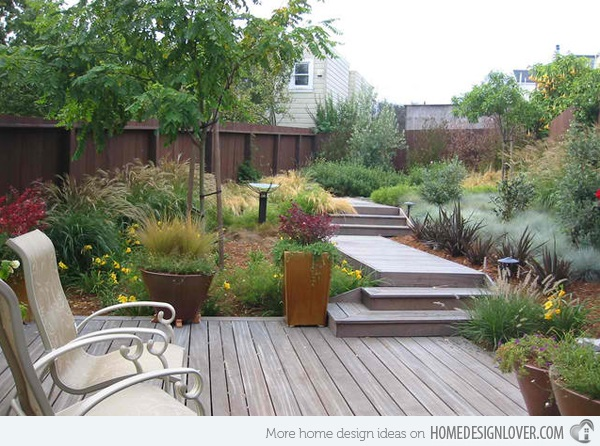 Cool Garden Stair Ideas For Inspiration (13)