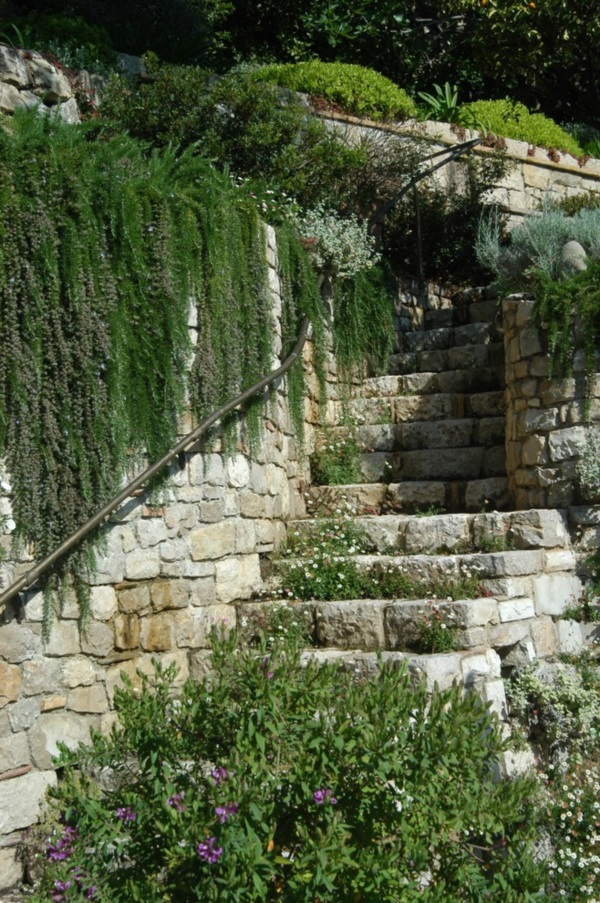 Cool Garden Stair Ideas For Inspiration (34)