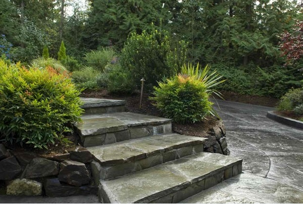 Cool Garden Stair Ideas For Inspiration (4)