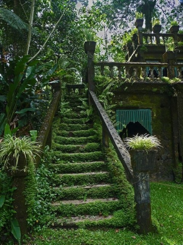 Cool Garden Stair Ideas For Inspiration (40)