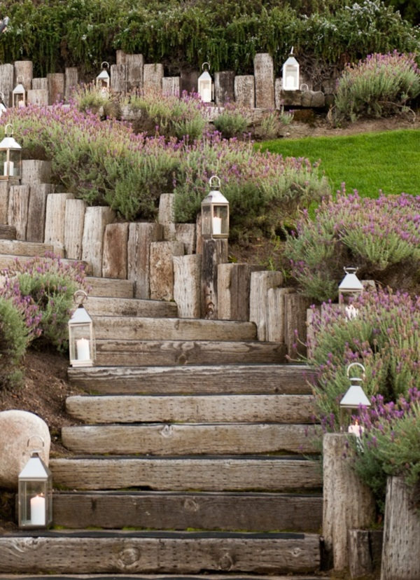 Cool Garden Stair Ideas For Inspiration (44)