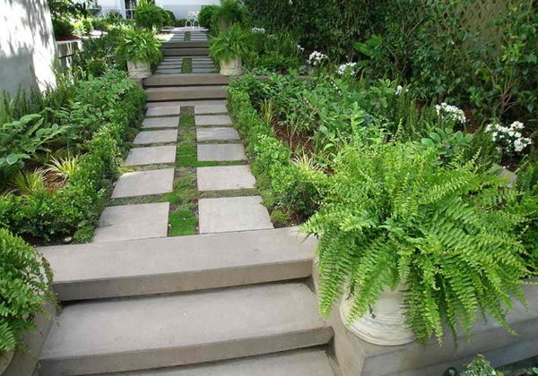 Cool Garden Stair Ideas For Inspiration (46)