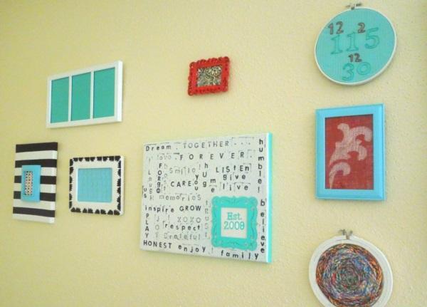 Creative Frame Decoration Ideas For Your House  (22)