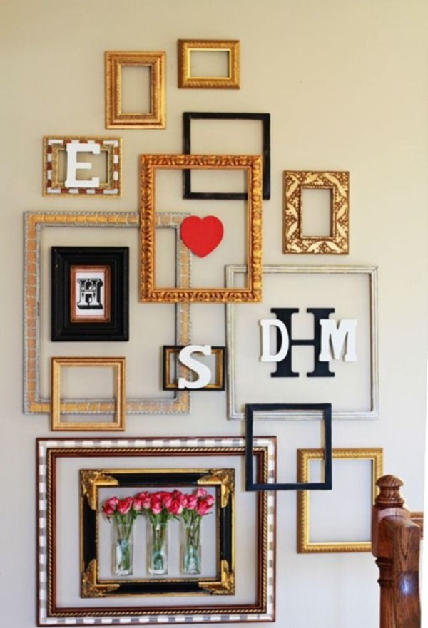 Creative Frame Decoration Ideas For Your House  (37)