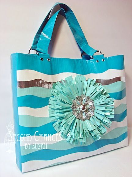 duct tape crafts bag