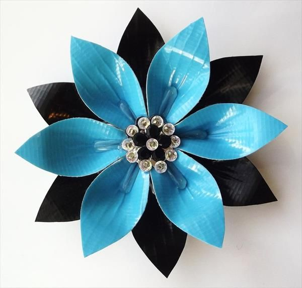 duct tape crafts flowers