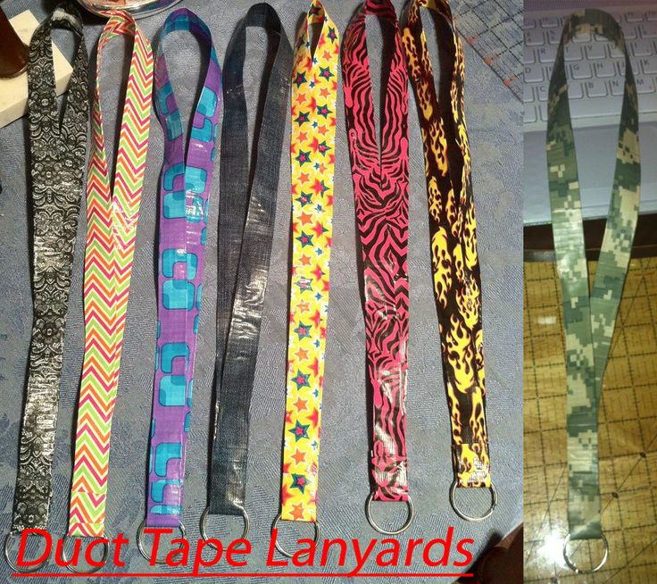 duct tape crafts lanyards