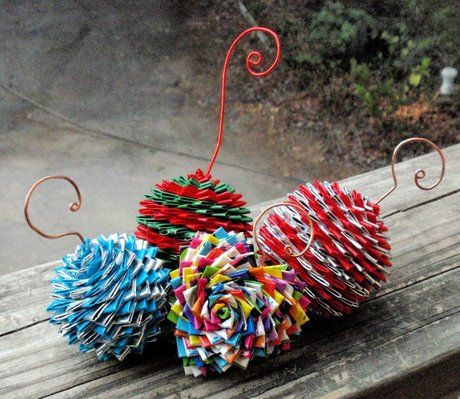 duct tape crafts ornaments