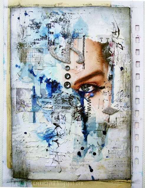 mixed media art 10